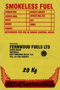 Fernwood Smokeless Coal 20kg